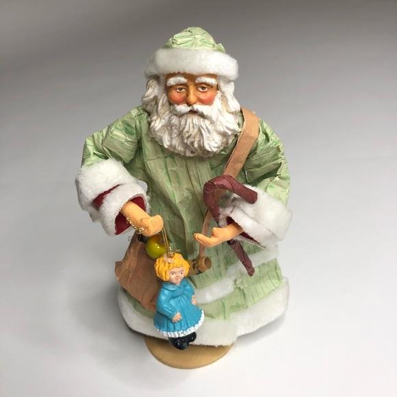 Vintage Paper Mache Santa Claus   Chairish   580x580